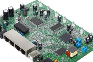 Cina Rigid PCB Circuit Board Assembly 4- Layers SMT Through Hole Technology Services Ketebalan 1.6mm pemasok