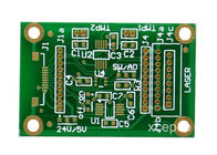 Cina FR4 Material Double Sided PCB Board 2- Layers Hasl Permukaan Finish Green Solder Mask perusahaan