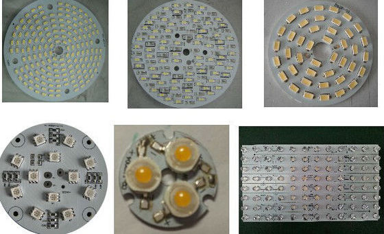 kualitas baik LED Lighting Aluminium PCB Board High Power LED PCB Printed Circuit Board pemasok