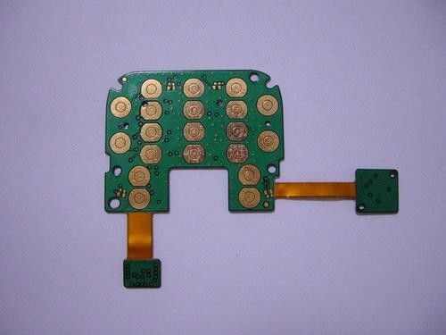 kualitas baik Multilayer PCB Assembly OEM Rigid Flex Immersion Gold Finishing Permukaan pemasok