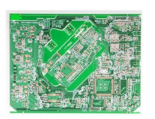 kualitas baik PCBA ENIG Permukaan Finish Solder Double Sided PCB 2- Layer Flying ProbeTesting Thickness 1.6mm pemasok